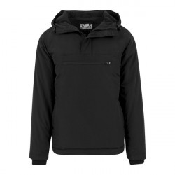Urban Classics Padded Pull Over Jacket Black