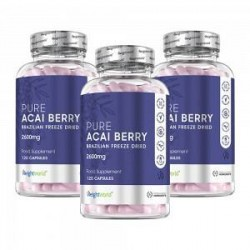 WeightWorld Acai Pure - Acai Piller - Styrker & Forebygger Immunforsvaret - Bekæmper Skadelige Bakterier - Rig På Sunde Vitamine