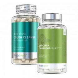 WeightWorld Body Balance Pack - Dobbelt Kosttilskud for Vægtkontrol og Vitalitet - 2x60 Kapsler - 2 Pakker - 100 % naturlige og