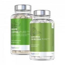 WeightWorld Diet Booster Pack - Kosttilskud for Vægtkontrol for Veganere og Vegetarer - 60 og 90 Kapsler - 3 Pak - 100 % naturli