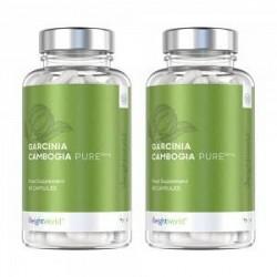 WeightWorld Garcinia Cambogia Pure - Pure Garcinia Cambogia Piller - 2x60 Kapsler - 1000mg - Appetitnedsættende - 100 % Naturli