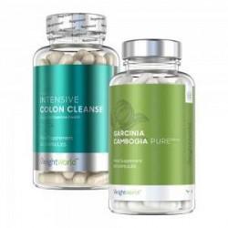 WeightWorld Kropsbalancepakken - Dobbelt Kosttilskud for Vægtkontrol og Vitalitet - 2x60 Kapsler - 100 % naturlige og virksomme