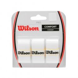 Wilson Pro Overgrip x 3 - White