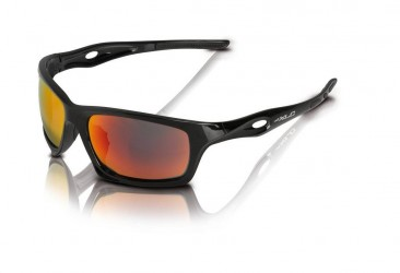 XLC Kingston SG-C16 Sort cykelbrille med 3 linser