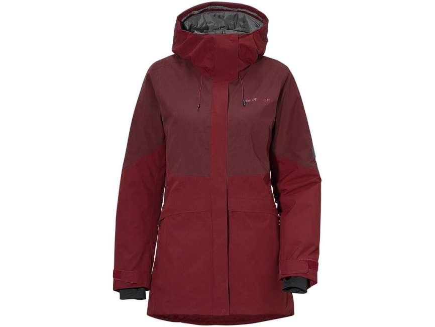 Priser på Didriksons Alta Womens Jacket - Damejakke - Rød - Str. 38