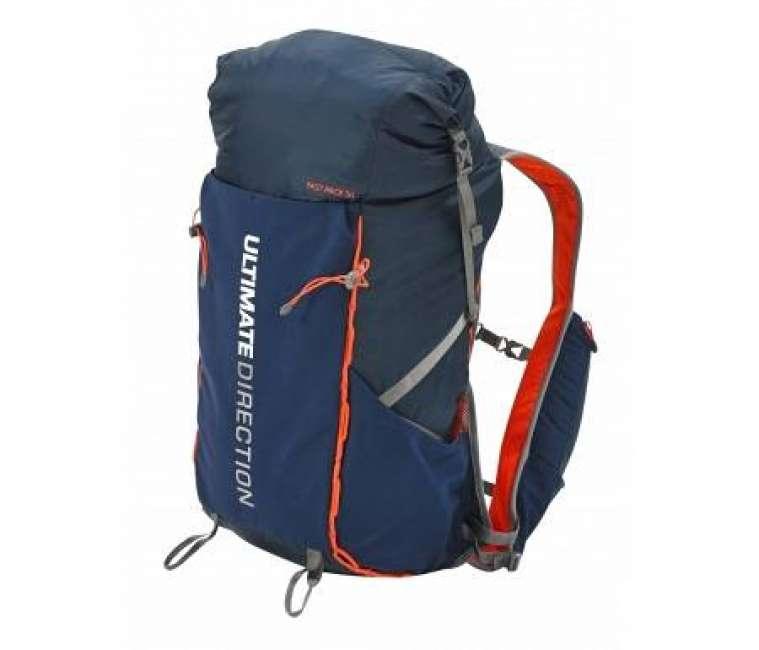 Priser på Ultimate Direction Fastpack 30 - Rygsæk - 20-31 liter - Navy/orange