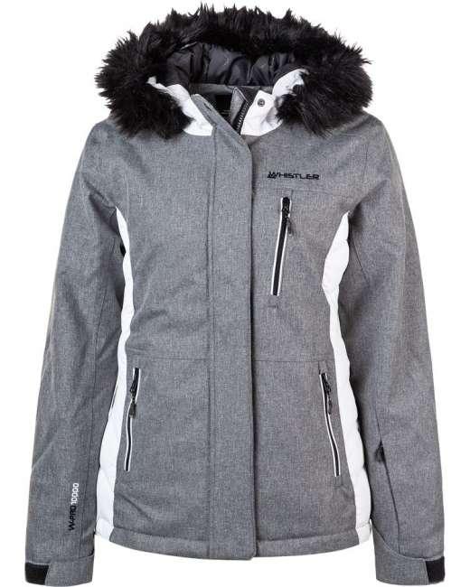 Priser på Whistler Amatoa Vinter- og Skijakke Dame, grå